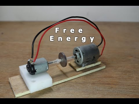 7066337eaaf How to make a free energy Generator Model using simple DC Motor ...