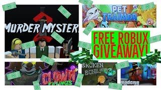 🔴 FREE ROBUX GIVEAWAY 🔴-jogar vários jogos no ROBLOX! Junte-se para uma chance de ganhar ROBUX grátis!