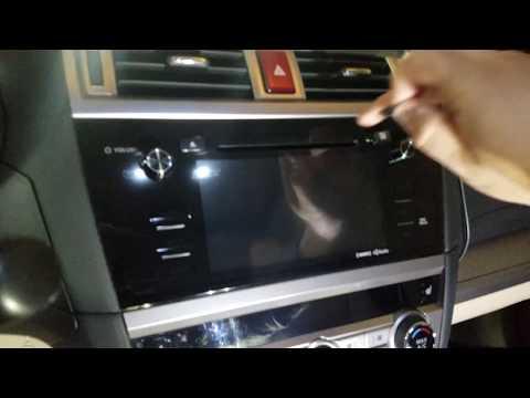 How to Update Subaru Maps Navigation Walkthrough (Gen2