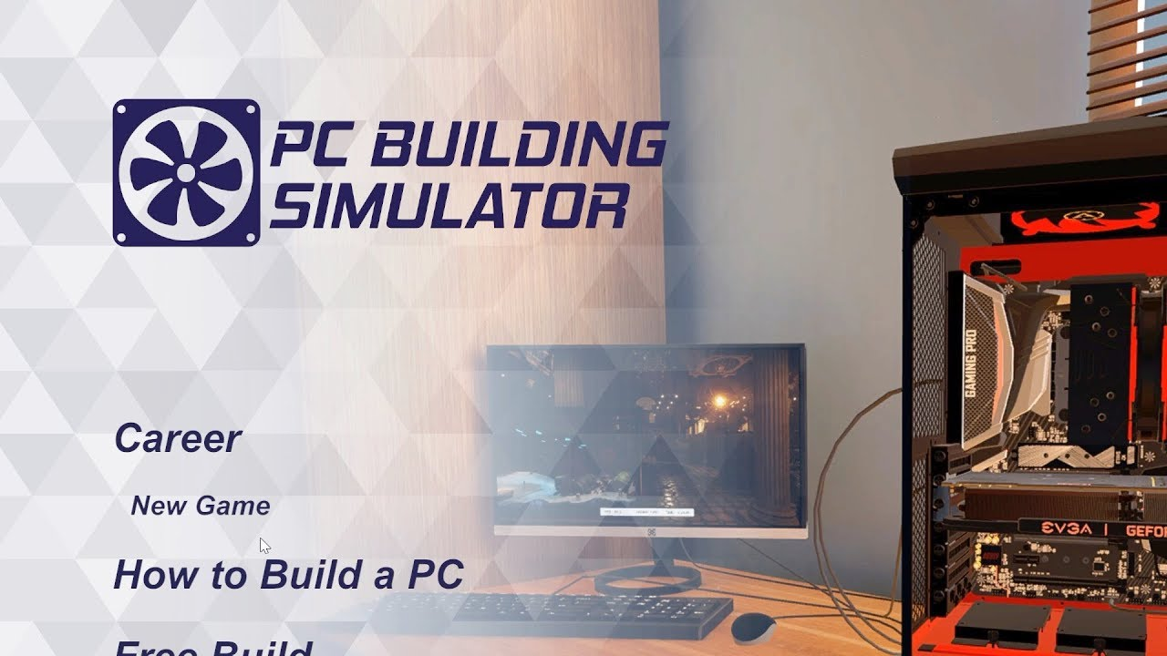 pc building simulator best simulator of 2018 youtube. Black Bedroom Furniture Sets. Home Design Ideas