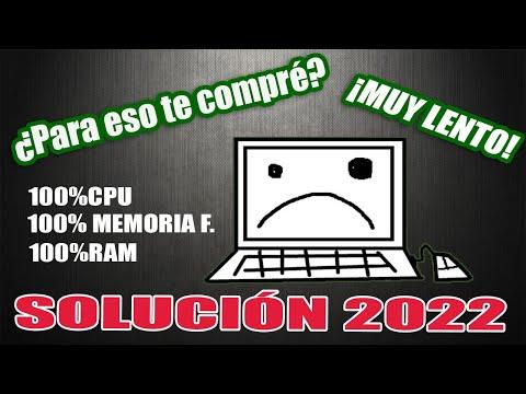 USO DEL CPU, MEMORÍA FISICA y RAM al 100% (SOLUCIÓN 2021)