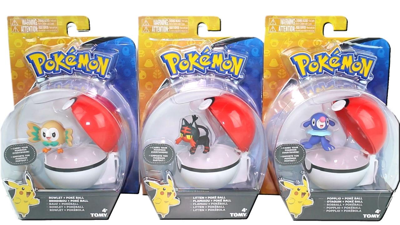 Litten ALL 3 Pokemon Sun /& Moon English Theme Decks /& Popplio! Rowlet