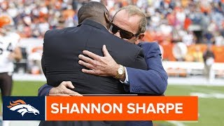 Shannon Sharpe 'Can't Think About the Broncos w/o Thinking About Mr. B.' | Denver Broncos