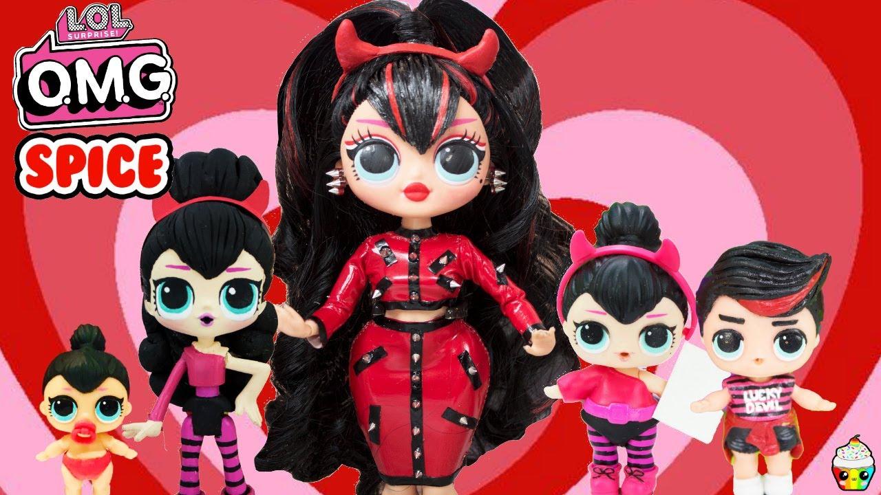 Lol Omg Spice Big Sister Makeover Diy Omg Doll Youtube