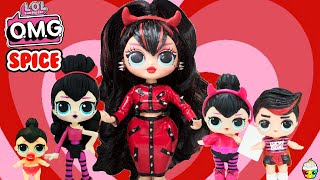 LOL OMG Spice Big Sister Makeover DIY OMG Doll