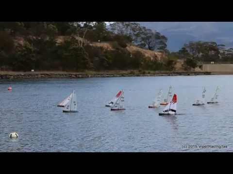 Repeat DragonForce 65 RC sailboat with Catsails A by cvlex2008