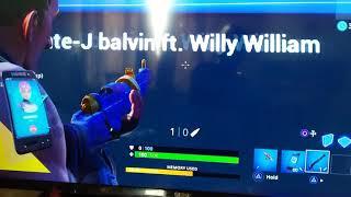 Mi gente - J Balvin ft. Willy William in fortnite
