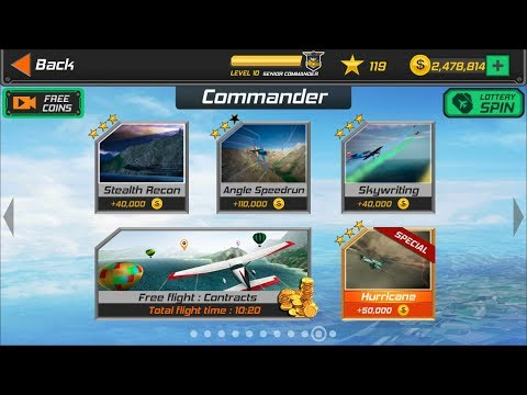 Flight Pilot Simulator 3D Android Game - Commander Missions