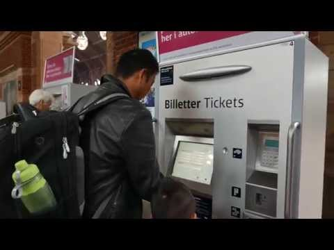 How to Buy Tickets for Train to CPH Copenhagen Airport from Central Station