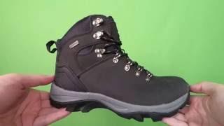 Видеообзор - Ботинки зимние водонепроницаемые кожаные мужские Atletico (6250)