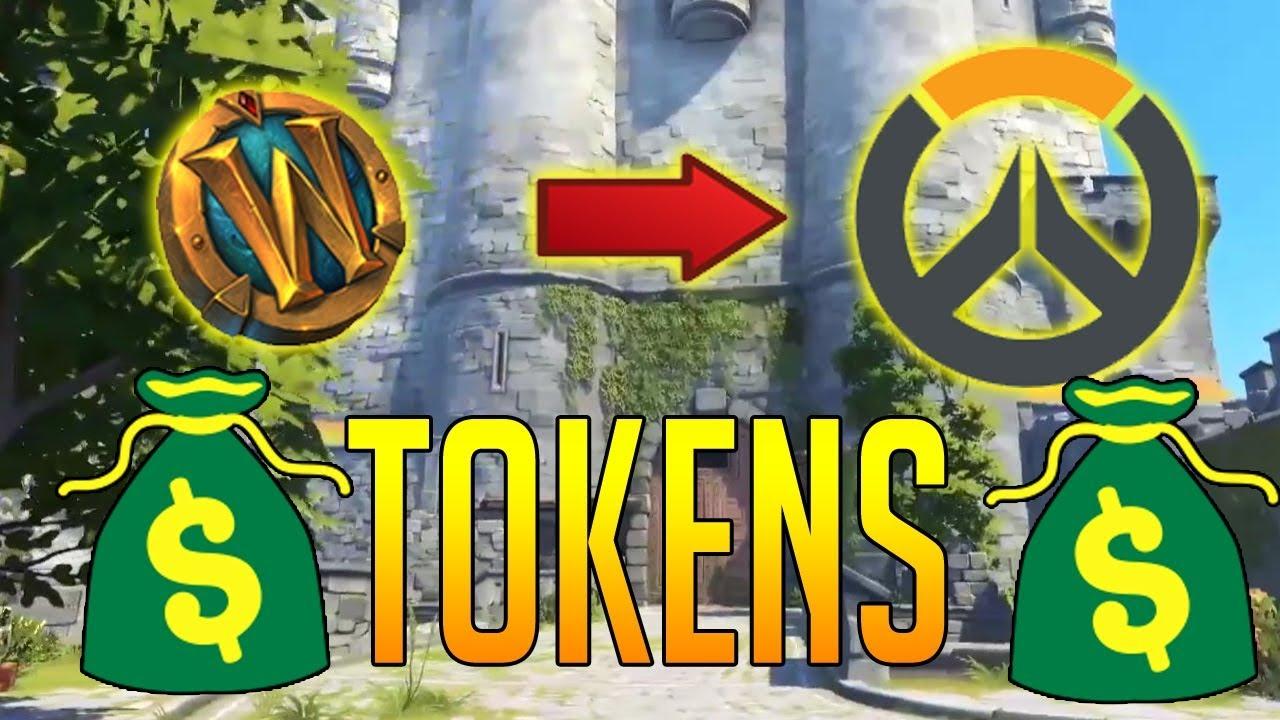 how to get tokens in overwatch