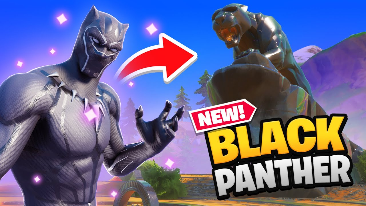 BLACK PANTHER in FORTNITE