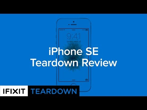 iPhone SE Teardown Review!
