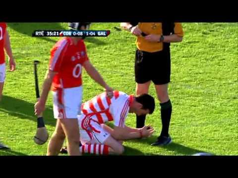 Donal Óg Cusack Red Card vs Galway 2008