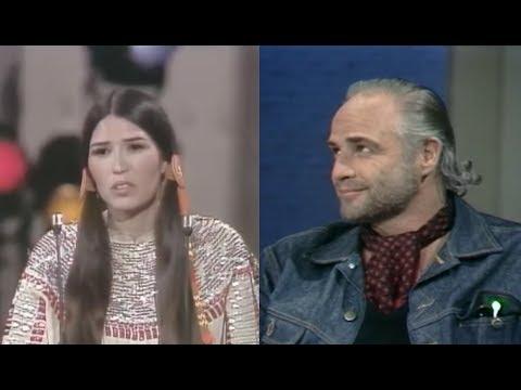 Marlon Brando rechaza el Oscar por su película El Padrino | Impactantes sucesos de los ÓSCAR.