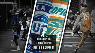 Utica City FC Vs FLorida Tropics