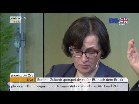 """""""Zukunftsperspektiven der EU nach dem Brexit"""": Wolfgang Schäuble und Jean Asselborn am 29.06.2016"""