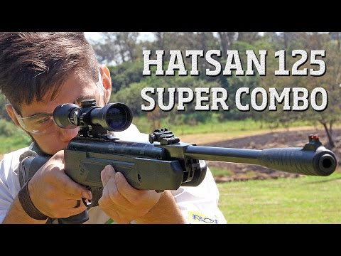 Hatsan 125 5.5mm SUPER COMBO - Carabinas é na Ventureshop.co