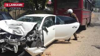 Kandy Accident - Army Major & Other Man Died