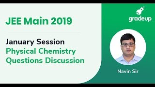 Live Class January Session: Physical Chemistry on Question Discussion for JEE Main