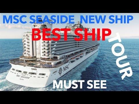 MSC Seaside Review - Full Walkthrough Tour - MSC Cruise Lines - YouTube