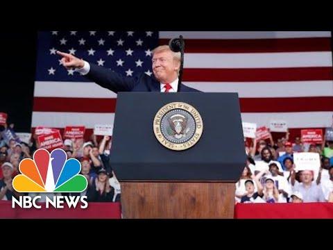 President Donald Trump Takes Aim At 2020 Candidates: Crazy Bernie, Sleepy Joe   NBC News