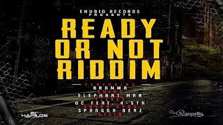 Ready Or Not Riddim Mix - October 2015 [Emudio Records] @onedonent
