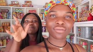 SHE'S FINALLY HERE!!!   HOLIDAY IN GHANA  2017 VLOG #4