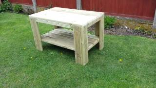 Large Outdoor Coffee Table