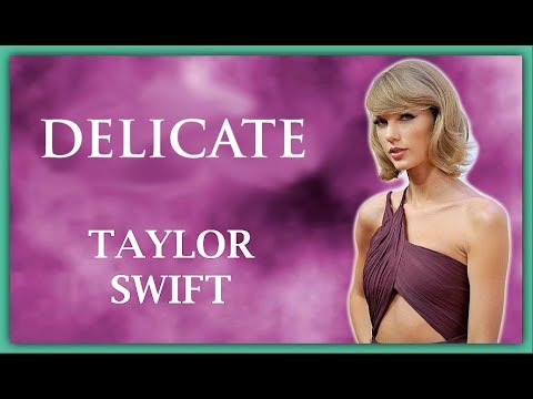 Taylor Swift - Delicate (Lyrics / Lyric Video) | Cover Acoustic | HD | Official | 2017 |