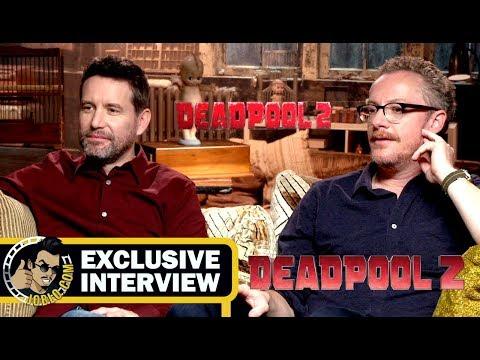 Writers Rhett Reese and Paul Wernick DEADPOOL 2 Interview! (2018) JoBlo.com