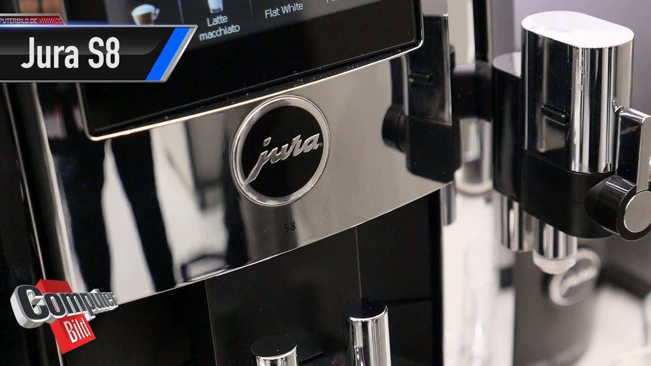 jura s8 smarter kaffeevollautomat im check youtube. Black Bedroom Furniture Sets. Home Design Ideas