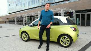 Opel Adam - тест-драйв в Будапешті