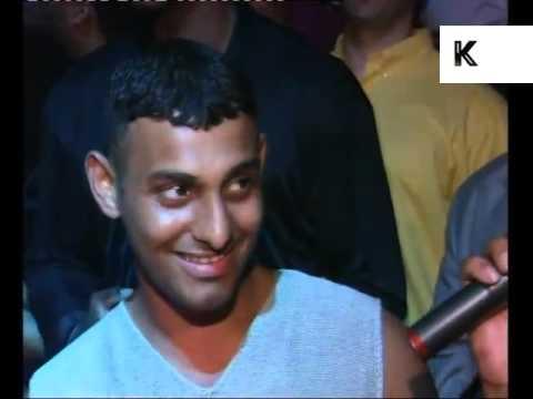 1997 Prince Naseem Hamed DJs at London Nightclub, News Report