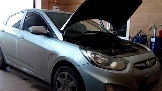 Какое моторное масло и сколько лить в двигатель Hyundai Accent: фото и видео