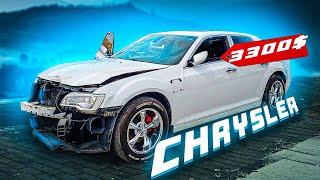 Купили Chrysler за 3300$ авто из США в Украину . Дом за 325к $ . Форд Мустанг покинул автосервис