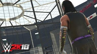 WWE 2K18 Elimination Chamber Trailer Jeff Hardy Returns! - PS4/XB1 Gameplay Notion/Concept
