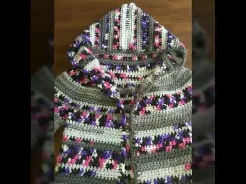effb0f457b12 Διαστάσεις και μετρήσεις για την πλεκτή ζακέτα για παιδιά! Μέρος 3ο! Art of  crochet by Airis