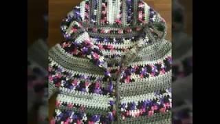 aadbcc34a86 Διαστάσεις και μετρήσεις για την πλεκτή ζακέτα για παιδιά! Μέρος 3ο! Art of  crochet