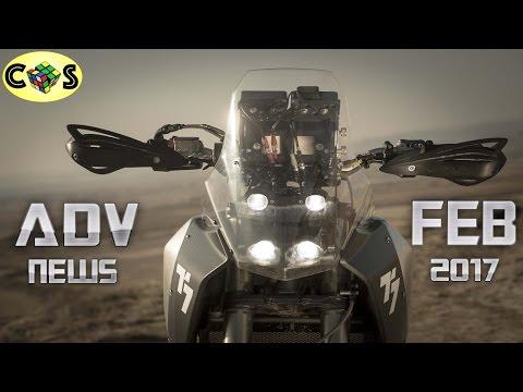 Adventure News: Yamaha T7, Honda CRF500L, and CCM GP600