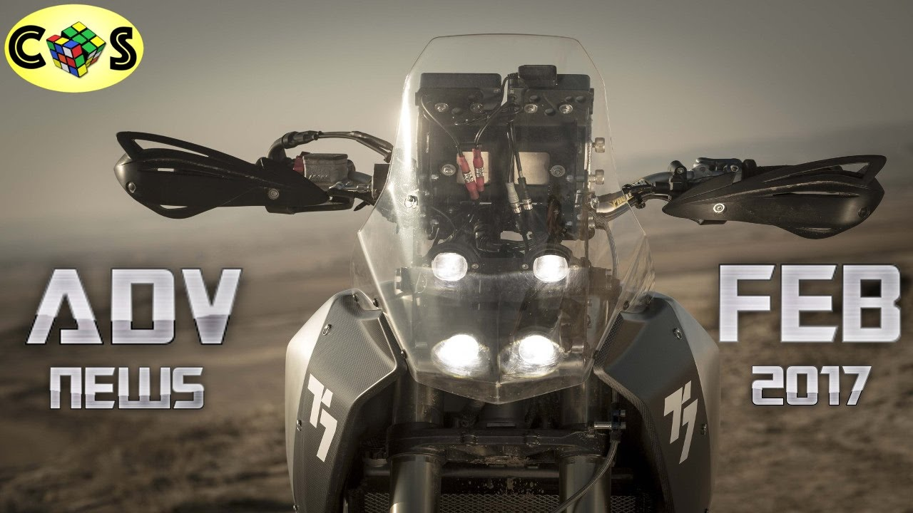 Adventure News Yamaha T7 Honda Crf500l And Ccm Gp600 Youtube