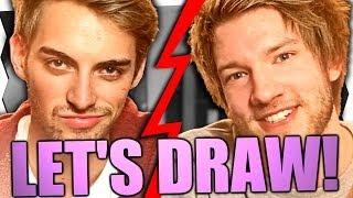 TC & JAN ROMANZE?! - Let's Draw (feat. Y-Titty)
