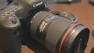 Canon 16-35mm F4 L IS USM Lens HANDS-ON PREVIEW