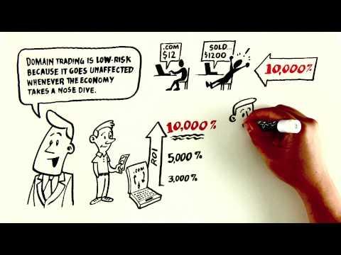 Protrada -- How to Make Money Trading Domains!