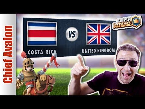 MGL WORLDS TOP 32: COSTA RICA vs UNITED KINGDOM (UK) ft. SaintBelikin - Clash Royale eSports
