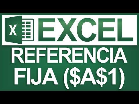 Fijar una Celda o Bloquear Referencia ($A$1) en Excel - Dostin Hurtado