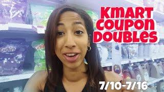Kmart Coupon Doubles: FREE Always, Mitchum, Gillette (7/10-7/17/2016)