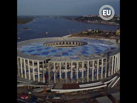 Mundial Rusia 2018: El estadio de Nizhny Nóvgorod