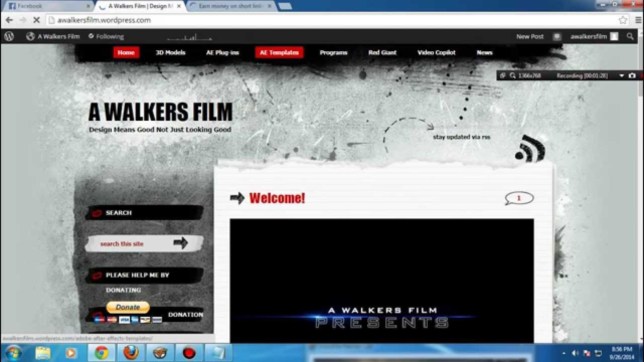 How to download videohive templates for free ae hd youtube maxwellsz