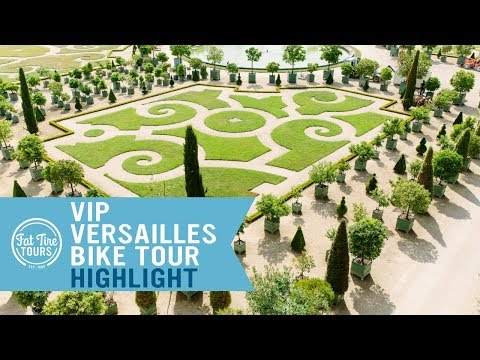 VIP Versailles Bike Tour Highlight | Versailles Formal Gardens | Fat Tire Tours